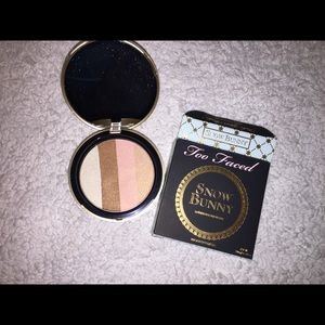 NEW Too Faced Snow Bunny Bronzer
